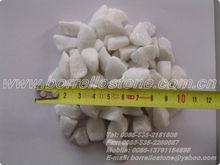Concassée blanc gravier prix dans le Shandong