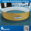 10FT Aluminum Circle Hanging Banners For Trade Show