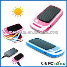 2012 stylish OEM logo 1500mah sun charger for mobile phone