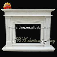 Fireplace back panel