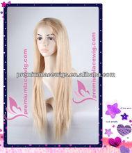 24 inch very long platinum blonde hair wig