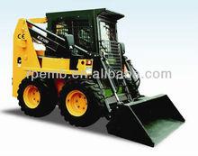 skid loader wheels,4t 0.6-0.7m3 bucket Wheel Skid Steer-RJC100 for sale,wheel loader spare parts