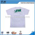Alta qualidade baratos plain white t- camisas