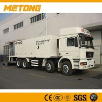Metong road building machine,asphalt slurry seal,slurry sealing machine supplier