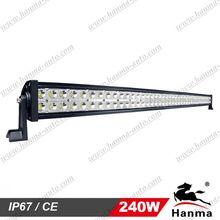 240W light bar super bright 6000K waterproof led light bar for car,off road led light bar