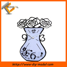 DIY Wall Clocks Vase Shape/Modern Home Decor Clocks/Hot Wall Clocks For Sale