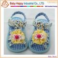 elegante melhor preço novo design sapatas de bebê de sandálias