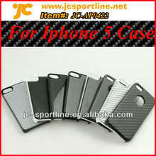 100% Real Carbon Cell Phone Cover For Iphone 5