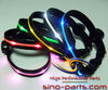 2012 latest model - high quality led flashing led dog collars