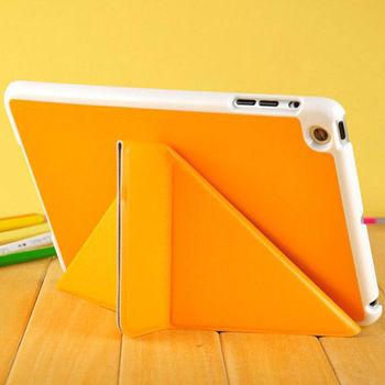 pu leather case for ipad mini , for ipad mini leather case