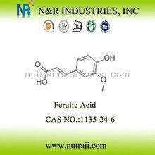 Natural Ferulic Acid 1135-24-6