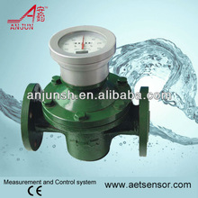 ANJUN LC Oval Gear Transformer oil Flow Meter with 4-20mA output