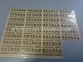 galvanica plastica alfabeto numero e simbolo
