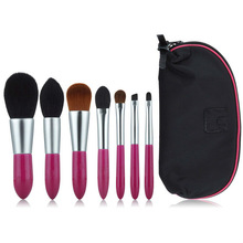 7 pcs Cosmetic Brush Set Delicate Style
