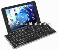 Wireless Bluetooth Aluminum Keyboard Case Cover For Apple iPad Mini 7.9 KKB029