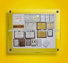 A0-A4 acrylic frame