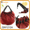 fashion designer beaded leather jewelry handbag