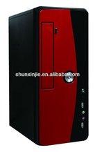 Desktop Mini tower computer case with color-steel