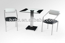 Stainless steel tube dining table DT-336