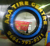 inflatable tire advertising