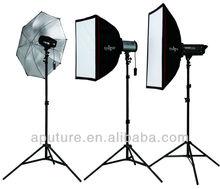 Aputure CubePow studio light kit for photographer