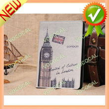 for iPad Mini Smart Leather Case with Sleep Mode Vintage Style