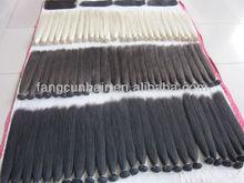 high quality human brazilian dark brown /blonde /black hair weft/weaving