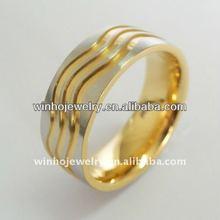 Titanium charm ring for boys