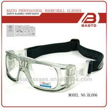 Protective eyewear for basketball