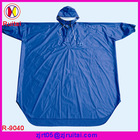 Cheap PVC raincoat using for riding bicycle