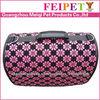 Nice foldable fashionable pet carrier bag