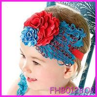 Baby Girl Hair Band Infant Toddler Feather Flower Diamond Headband Headwear