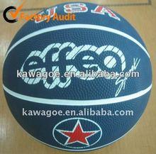 mini rubber basketball customized