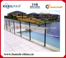 black aluminum pool fence, ISO9001:2008