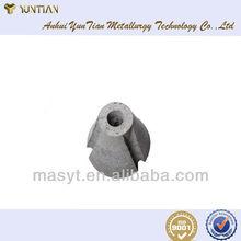 Slag stopping plug for converter application bof steel making