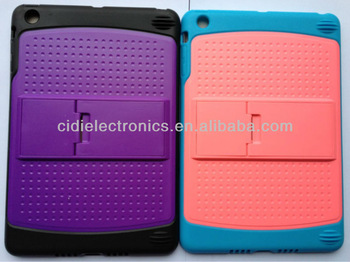 Wholesale Price for iPad Mini Kickstand Heavy Duty Combo Case
