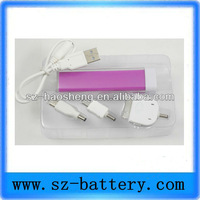 External Mobile Battery Charger for Iphone 5V 3000mAH lithium