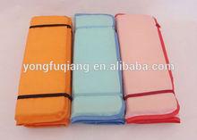 Foldable popular 3 layer fashion polyester names cushion