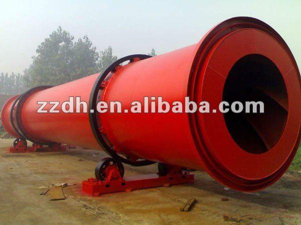 Avanzada tecnología de triple - cilindro secador rotatorio equipo secador de grano de secado