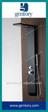 CE, ACS approved Aluminum Alloy with black color Shower Panel A110