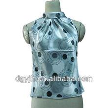 Factory price new wrap tunic sexy bikini blouse top factory dot