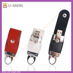 OEM Manufacturer Leather USB Flash drive,mini usb flash thumb drive