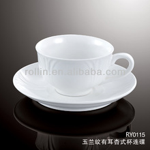 healthy special durable white porcelain decor ware