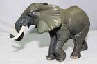plastic elephant figurine;animal figurines real looking