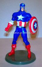 OEM design factory spiderman action figure;plastic action figure