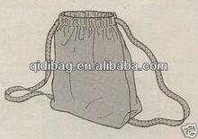 Drawstring Backpack Purse Bag Pattern and Instructions   drawstring bag pattern