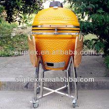 Large mobile charcoal egg cooker/christmas gift to smokers