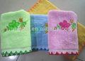 cartas para bordar em toalhas de veludo para presentes de natal