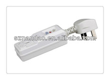 Safety products Protector PRCD plug for British