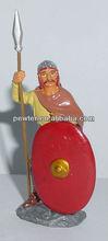 2013 Painted Metal soldiers metal warrior metal figurine toy soldier 8CM